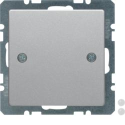 Berker 10096089 Blindverschluss mit Zentralstück Q.1//Q.3//Q.7 polarweiß samt