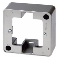 Berker 10300069 Aufputz-Rahmen Stecker Schalter Abdeckung 2-fach ARSYS polarweiß