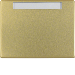 14360002 Wippe mit Beschriftungsfeld Arsys gold,  Metall