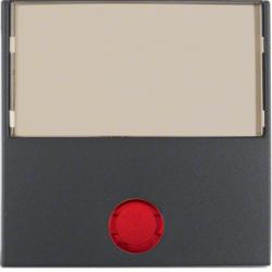 Berker 16288989 Abdeckung Schalter 5 beil Linsen polarweiß//glänzend S.1//B.3//B.7