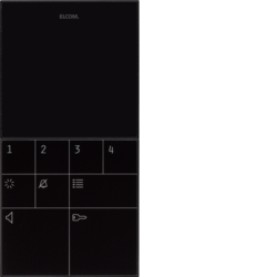 elcom bft 510 540 audio innenstationen 2draht technik video audio. Black Bedroom Furniture Sets. Home Design Ideas