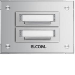 Schön Klingelplatten aus Aluminium Ersatzteile | hager.de SI64