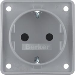 Hervorragend Steckdosen SCHUKO Berker Integro Design Flow Einsätze   hager.de DP46