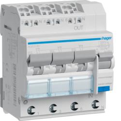 Fi Schalter-LS Schalter mit Sammelschiene im Paket und einzeln