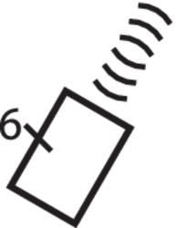 Hager TU406 Kanaele Funkfernbedienung