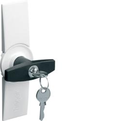Hager Türschild mit Klappgriff für Schrank IP44 Türgriff Tür Griff Schranktür