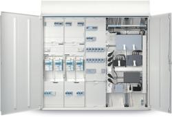 Turbo Zählerplatzsysteme Installationsverteilungen und Schalt XZ31