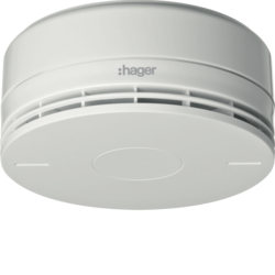 RFM100D BEKA EN54-7 smoke detector with siren,  white