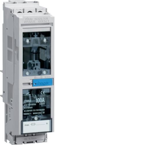 LT0054 Sicherungslasttrennschalter LT NH000/40mm 100A,  Rahmenklemme 50mm²